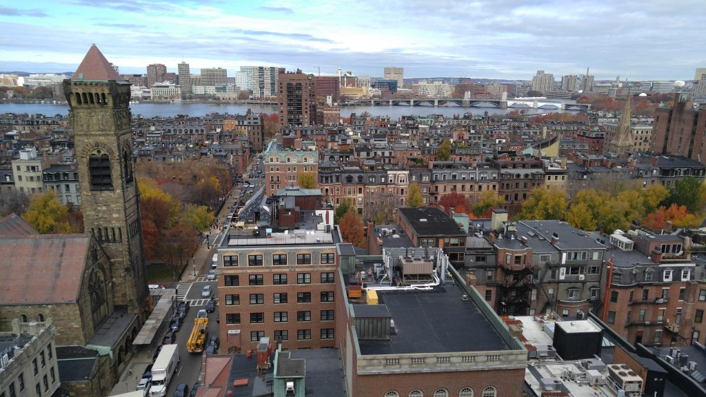 Back bay from the south