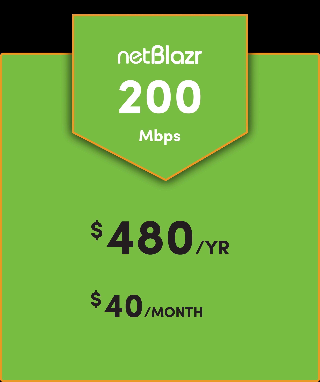 netBlazr internet price